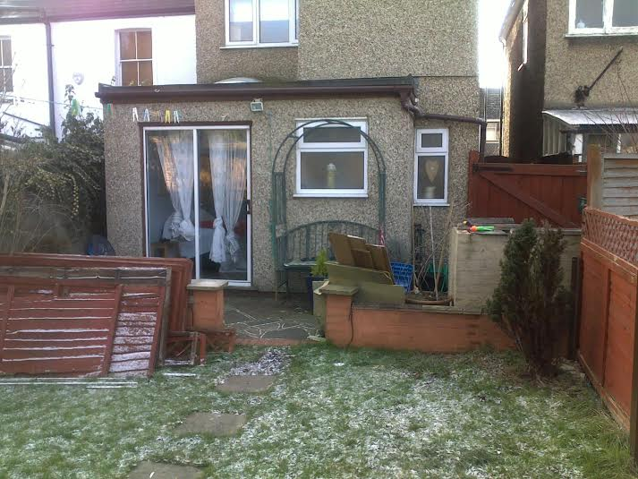 Family Garden, North London - Before